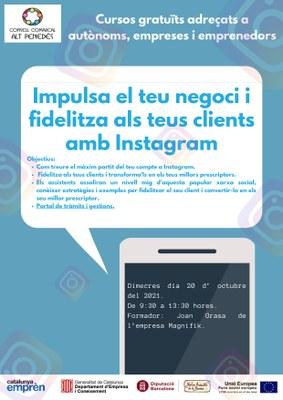 Impulsa el teu negoci i fidelitza els teus clients amb Instagram