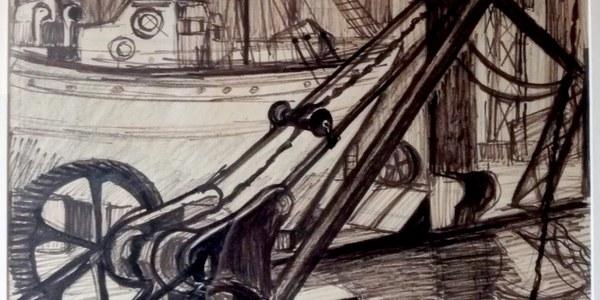 """Inauguració de l'exposició   """"Marta Rabell, dibuixos a tinta xinesa"""""""