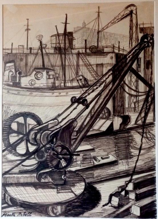 """""""Port de Barcelona"""" de Marta Rabell"""