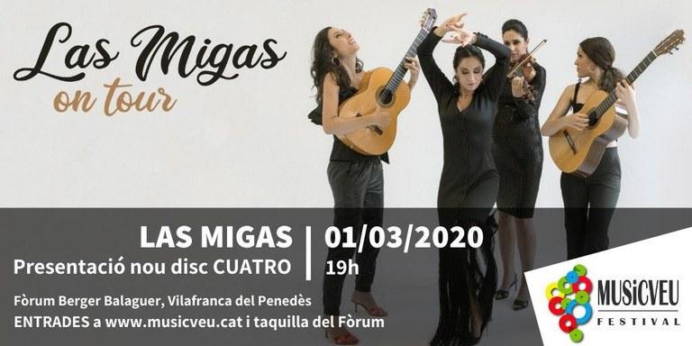 Las Migas, quatre dones guerreres i viatgeres
