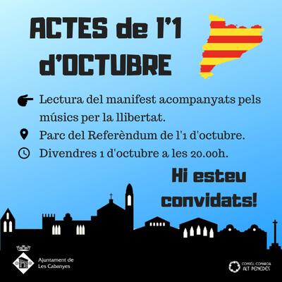 Manifest 1 d'octubre