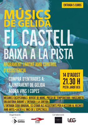 MÚSICS DE GELIDA AL CASTELL: MÚSICA DELS VUITANTA/'80