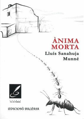 """Presentació del llibre """"Ànima morta"""" de Lluís Sanahuja Munné al Consell Comarcal de l'Alt Penedès"""