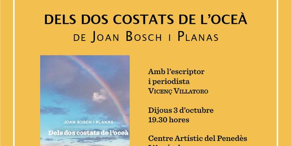 Presentació llibre de Joan Bosch