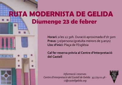 Ruta Modernista de Gelida