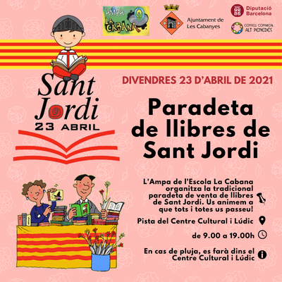 Sant Jordi 2021: Paradeta de Sant Jordi