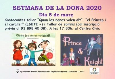 SETMANA DE LA DONA 2020 OLESA DE BONESVALLS, 5 DE MARÇ