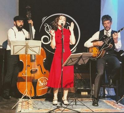 Vinòleum: Concert amb Swing! Mrs Jones Trio.