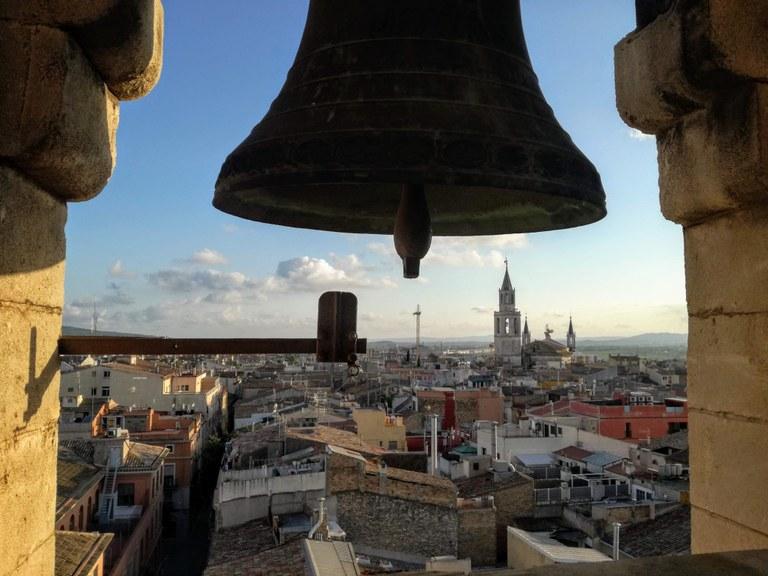 Visita guiada al campanar de la Trinitat