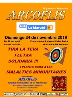 Cartell ARCOFLIS amb La Marató 2019.jpg