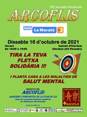 XIII JORNADES MEDIEVALS: ARCOFLIS AMB LA MARATÓ DE TV3