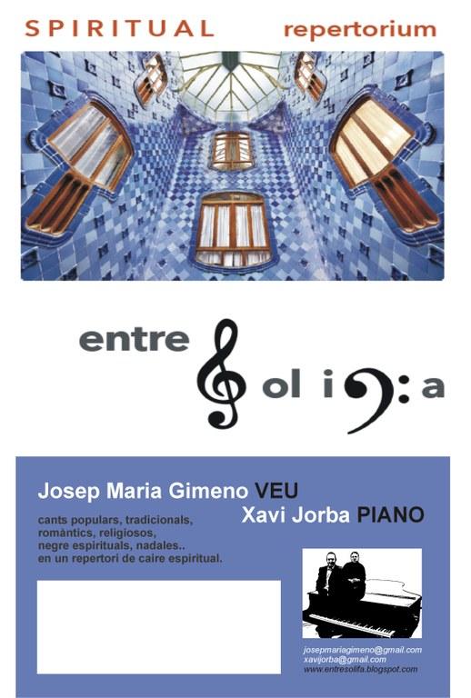 EntreSol i Fa presenta en concert SPIRITUAL repertorium